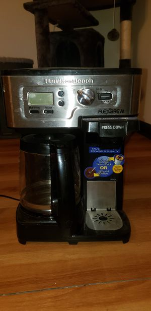 Hamilton Beach Coffee maker and K-Cup brewer for Sale in Palmyra, PA