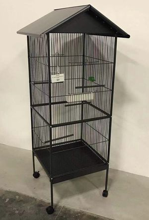 New in box 61 inches tall parakeet parrot bird cage with easy cleaning removable tray for Sale in Baldwin Park, CA