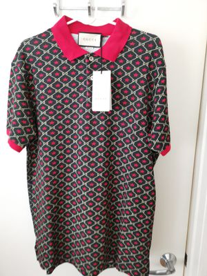 2020 GUCCI OVERSIZE POLO WITH GG STAR PRINT for Sale in Queens, NY