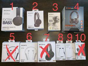 Brand new headphones ** READ DESCRIPTION** for Sale in San Antonio, TX