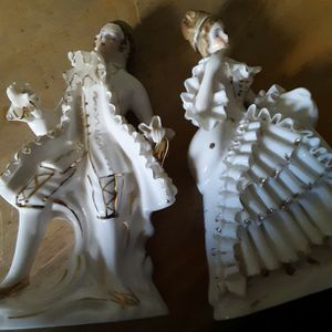 French Provincial Bone China Figurines for Sale in Kent, WA