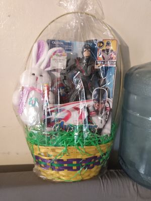 Captain America Easter basket for Sale in San Jose, CA