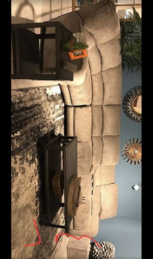 New Reclining Mula Gray Sectional -Couch -Living Room Set for Sale in Pflugerville, TX