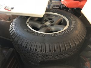 4 Jeep Wrangler Wheels and Tires for Sale in Hendersonville, TN