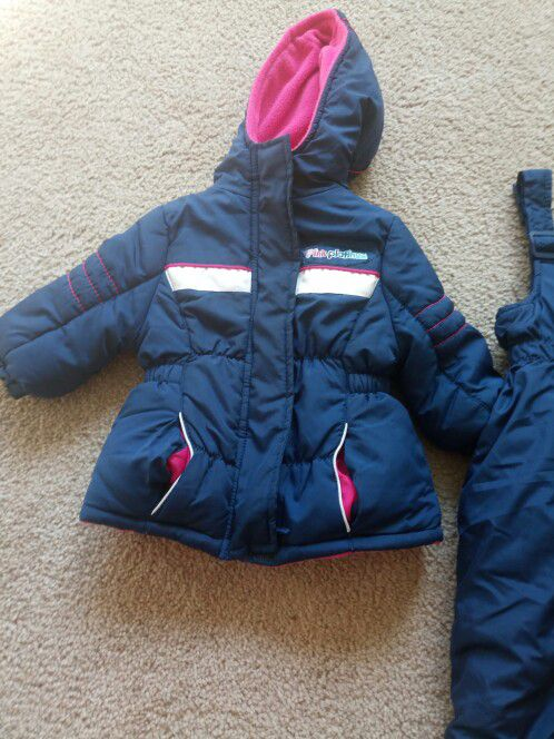 Infant Puffer Jacket and Pant Set