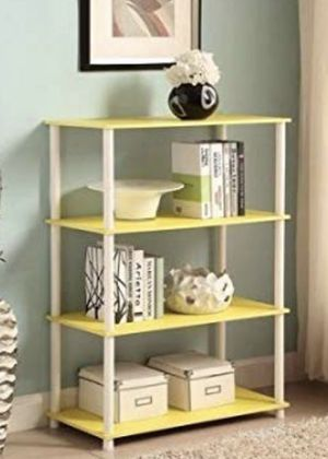 Yellow And White Shelf for Sale in Baltimore, MD