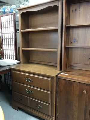Chest/book case President special $95 for Sale in Wolcott, CT