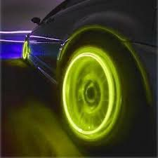 LED Yellow Lights Tire Wheels Valve Stem Cap Motorcycle Car Bicycle for Sale in Chicago, IL