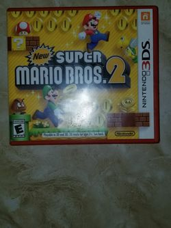 3DS New Super Mario Bros 2 (CASE ONLY ) for Sale in Mercedes,  TX