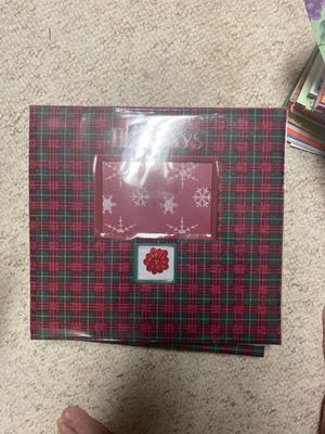 Holiday scrapbook for Sale in Metamora, IL