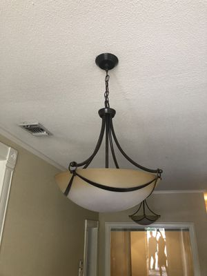 Two light fixtures for Sale in Austin, TX
