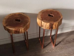 Live edge side tables for Sale in Dallas, TX