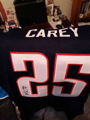 Kadeen Carey sighned Collage Jersey with the Wildcats. for Sale in Wenatchee, WA