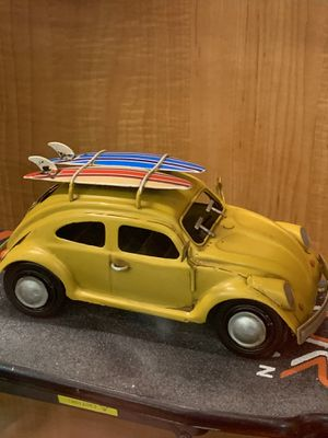 Volkswagen bug metal car 8 inches long for Sale in Miami, FL