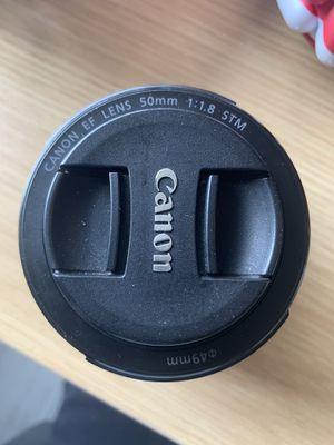 Canon EF Lens 50mm for Sale in Miami, FL