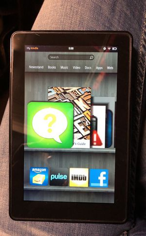 PRICE DROP! Amazon Kindle Fire HD Tablet and eReader- Still Available! for Sale in Denver, CO