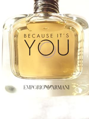 Authentic BECAUSE IT'S YOU by Emporio Armani 3.4oz Eau de Parfum Perfume for Sale in San Diego, CA