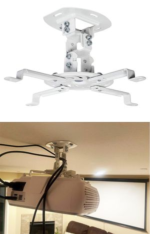 New $15 VIVO Universal Adjustable Ceiling Projector Mount Tilt Extending Arm Bracket, 360 Rotation for Sale in Whittier, CA