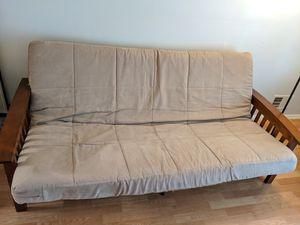 Better Homes foldable futon - like new-$125(Lawrence township) for Sale in Hamilton Township, NJ