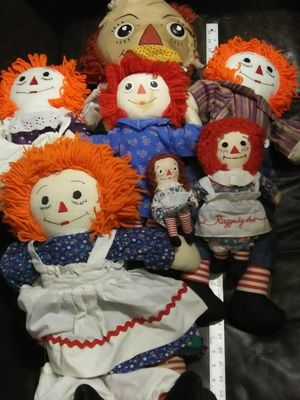 Raggedy ann and andy for Sale in North Little Rock, AR