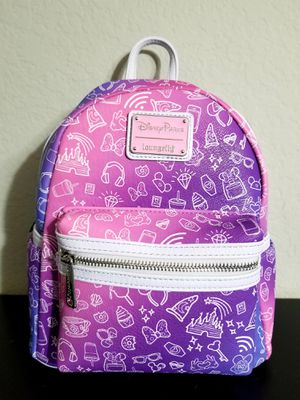 Pink snacks loungefly backpack for Sale in Buena Park, CA