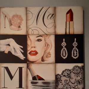 Canvas Marilyn Monroe Picture 3 Pieces 80.00 Or Sold Separately for Sale in Norwalk, CA