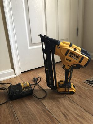 DeWalt nail gun only used 2 times for Sale in Ashburn, VA