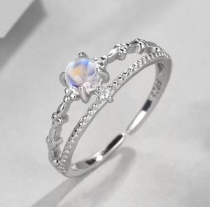 Moonstone 925 Sterling Silver Adjustable Ring for Sale in Wichita, KS