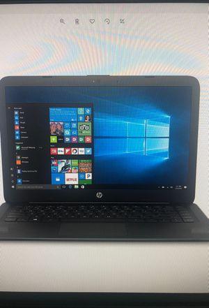 "HP stream 14"" jet black laptop, win10, office 365, intel Celeron N3060, 4gb ram, 32GB eMMC for Sale in Los Angeles, CA"