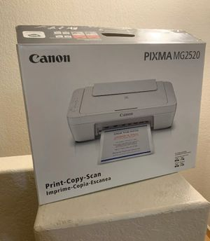 Canon Pixma MG2520 All in one printer with scan, copy, print. New in opened box for Sale in Hialeah, FL