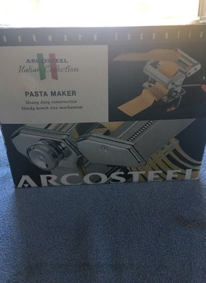 RARE ARCOSTEEL PASTA MACHINE for Sale in Quincy, MA