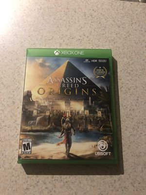 Assassin Creed Origins Xbox for Sale in Kennewick, WA