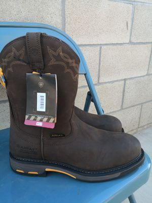 Brand new ariat composite toe work boots size 11.5 D for Sale in Riverside, CA