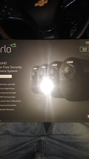 Arlo cameras 4 pack for Sale in Corona, CA