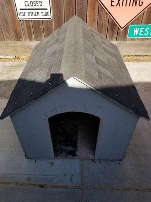 Handmade wood dog house for Sale in Modesto, CA