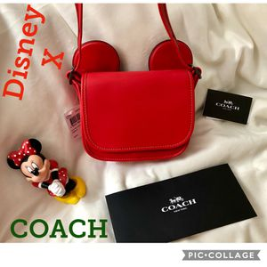 Authentic Coach Disney x Mickey ears crossbody purse (New with Tags) for Sale in Sun City, AZ