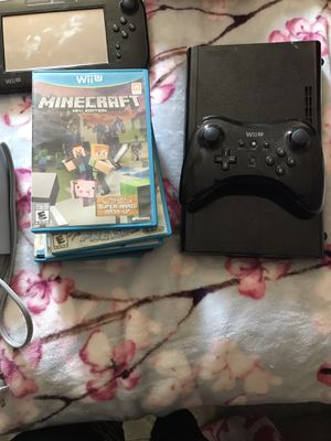Wii U, with controllers and Games for Sale in Fort Worth, TX