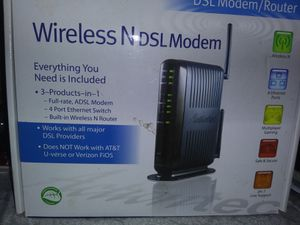 Wireless N DSL modem for Sale in Mandeville, LA