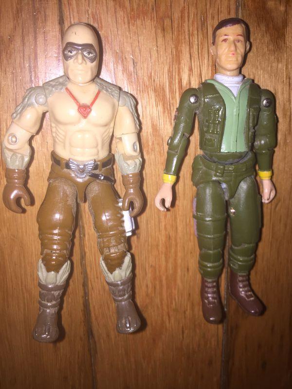 Vintage GI Joe Figures