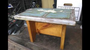 Small decorative wooden stool for Sale in Monroe Township, NJ