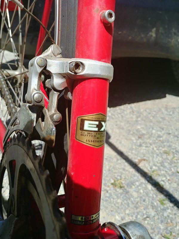 Vintage Trek bike tall
