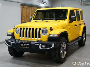 2019 Jeep Wrangler Unlimited Sahara for Sale in Lynnwood, WA