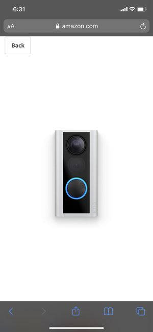 Ring Peephole doorbell camera for Sale in Frederick, MD