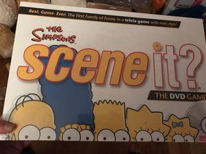 Simpson's trivia game 2009 scene it for Sale in Springfield, VA