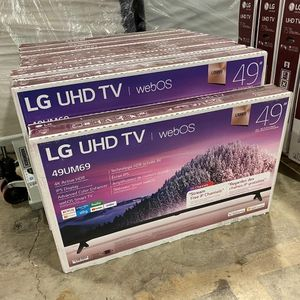 "LG NEW 49 INCH CLASS 4K SMART UHD TV (48.5"" DIAG) 49UM6900PUA $270 for Sale in Dallas, TX"