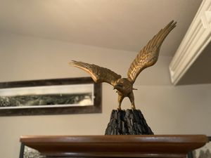Vintage solid brass eagle for Sale in Riverside, CA
