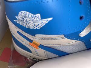 Nike Off White Jordan 1 UNC Size 10 ALL Accessories UA for Sale in Jonesboro, GA