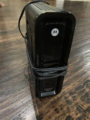 Motorola Cable Modem for Sale in Frisco, TX