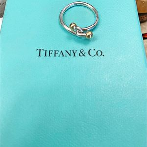 RARE TIFFANY & CO SILVER GOLD RING for Sale in Oceanside, CA