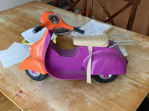 Our Generations Moped (American Girl Doll) for Sale in Altoona, IA